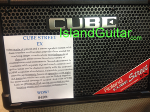 Portable Lightweight Battery or AC powered Guitar/Vocal AMP