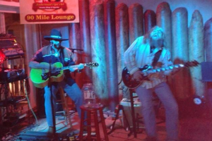 Wayne Sorbelli & Moose host Blues Night @ 90 Mile Lounge downtown Key West
